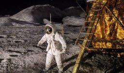 erster Mann auf dem Mond