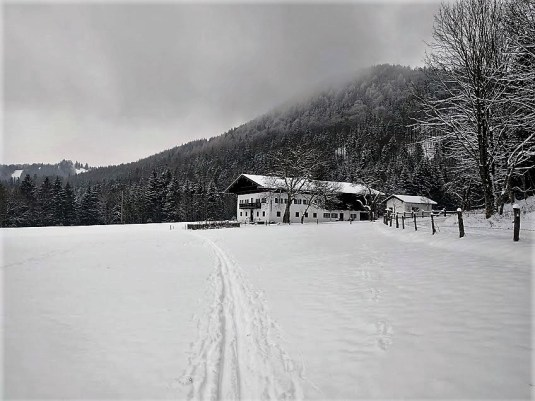 der alte Bauernhof in Aigen
