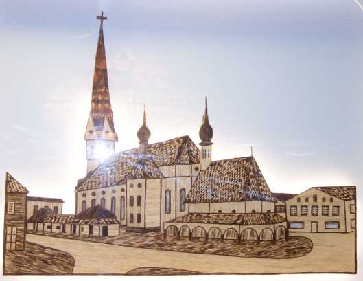kl-Streichholz Kirche Prien
