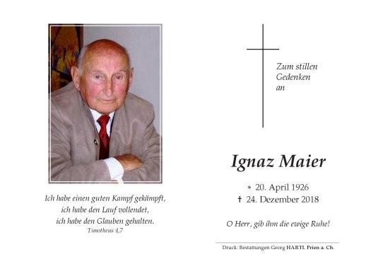 Maier Ignaz