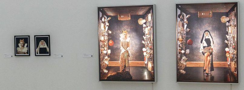 Blick in die Ausstellung, Irene Andessner © Sammlung Spallart/VG Bildkunst, Bonn, Foto: Martin Weiand 2018