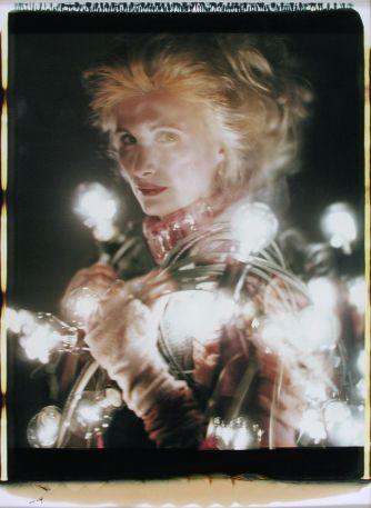 """Irene Andessner, """"Irrlichter """" aus dem Zyklus """"Milli Strubel """", 2000 © Irene Andessner/VG Bildkunst, Bonn; Sammlung SpallArt"""