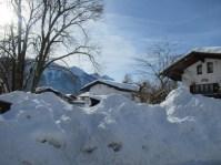 Inzell viel Schnee