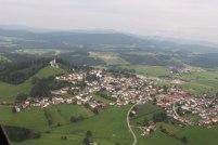 Gaufest Kirchberg Luftaufnahme Ort 2019