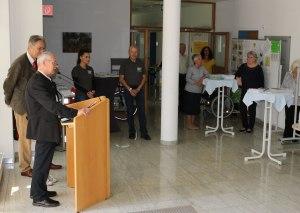 Eröffnung des Seniorentages im Aschauer Rathausfoyer.