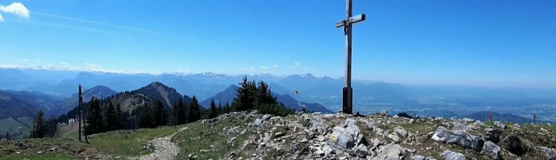 Alpenpanorama Weat