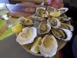 Austern in Bouzigue