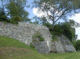 Reste der Burg Kling