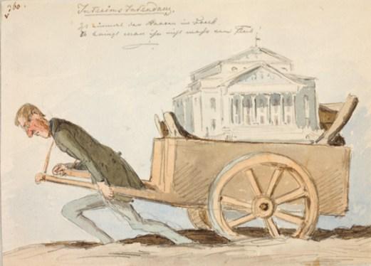 Pocci-Karikatur (Foto: Stadtmuseum München)