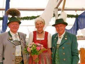 kl-Peter und Lotte Eicher mit Georg Grabner