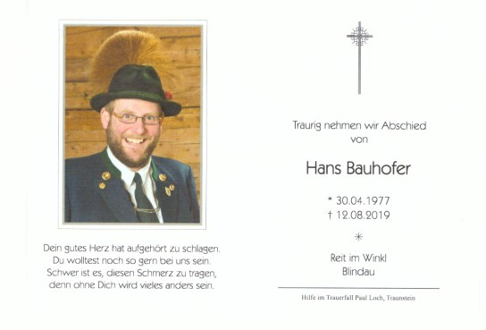 1Sterbefoto Hans Bauhofer