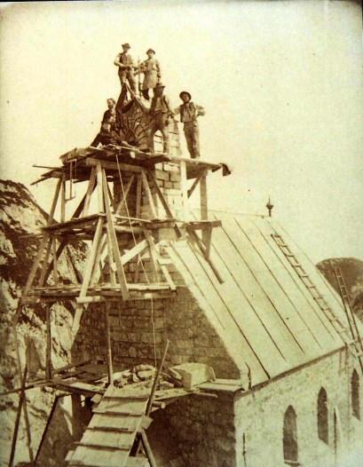 Wendelsteinkircherl Bau 1889 001