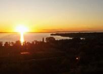 Sonnenuntergang vom Sonnenhof in Kressbronn