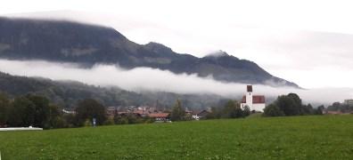 Nebelschwade Grainbach Sonntag