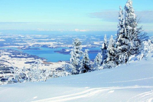 1Kampenwand-Chiemsee-Blick Winter