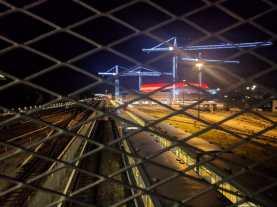Arena- vom U-Bahnhof aus