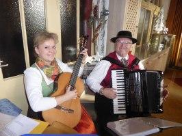 Hermann und Ingrid Hupf zeigten sich für die Organisation des Tages verantwortlich.
