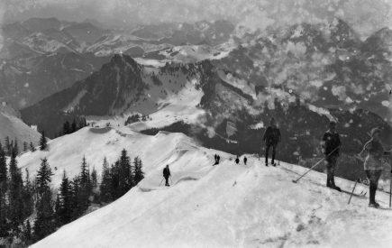 Am Gipfelgrat_Max Schweiger