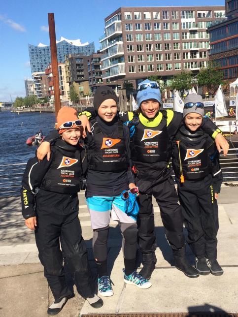 Opti Team Race mit Schwarz Xaver
