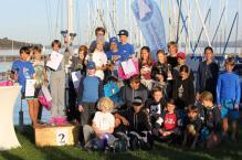 Siegerehrung Team Race Bayrische Meisterschaft CYC Sieger