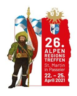 - das aktualisierte Logo für das Alpenregionstreffen