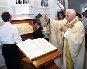 Orgelweihe 1