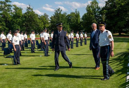 Polizisten Vereidigung Dachau (17)