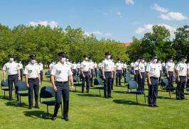 Polizisten Vereidigung Dachau (4)