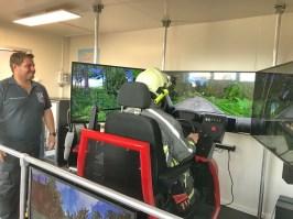 02_Training im Einsatzfahrten-Simulator