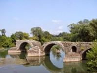 Thibery, römische Brücke