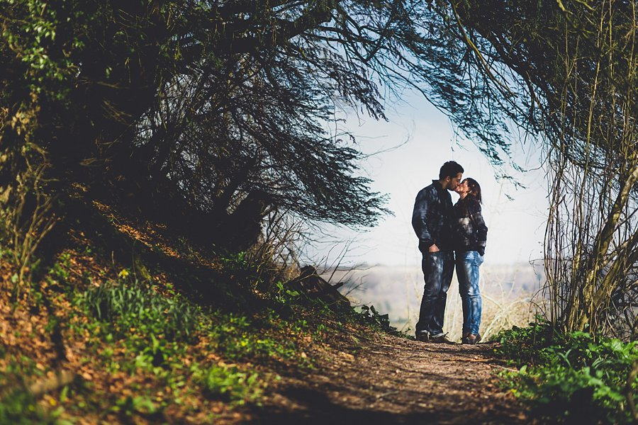 west sussex engagement shoot