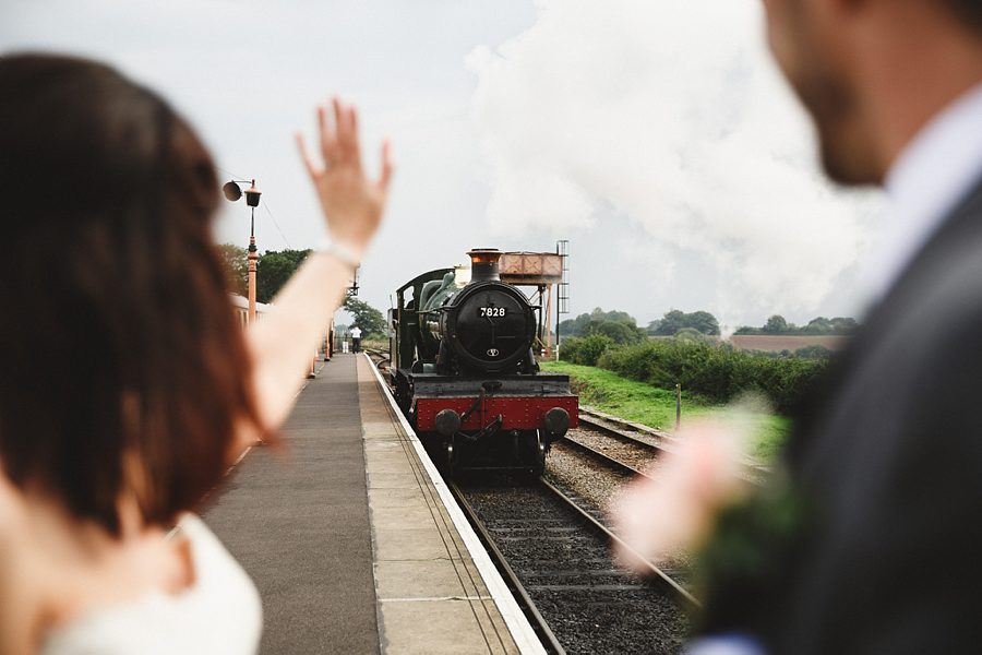 a steam train wedding by sam gibson