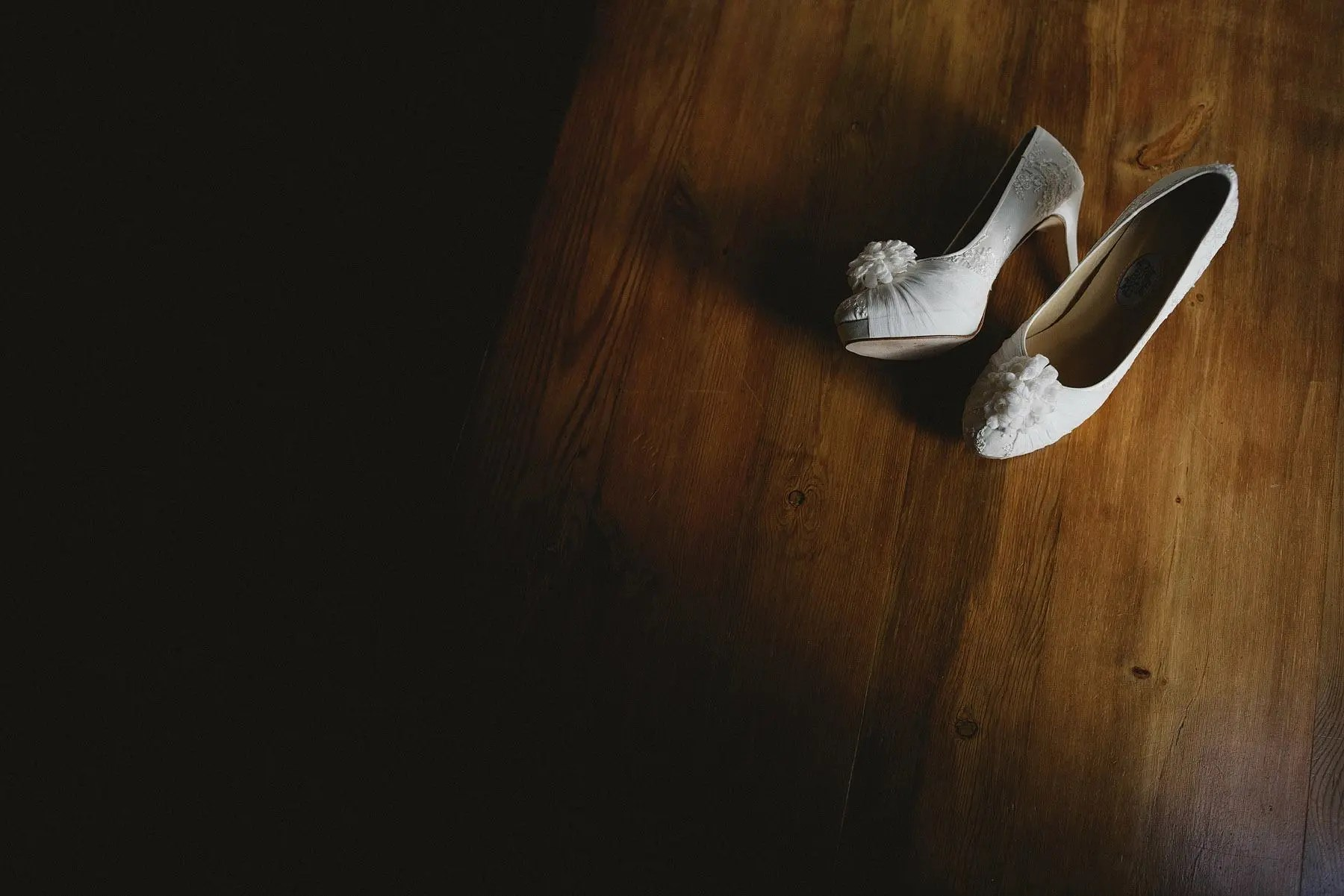 wedding shoes at a kingston estate wedding