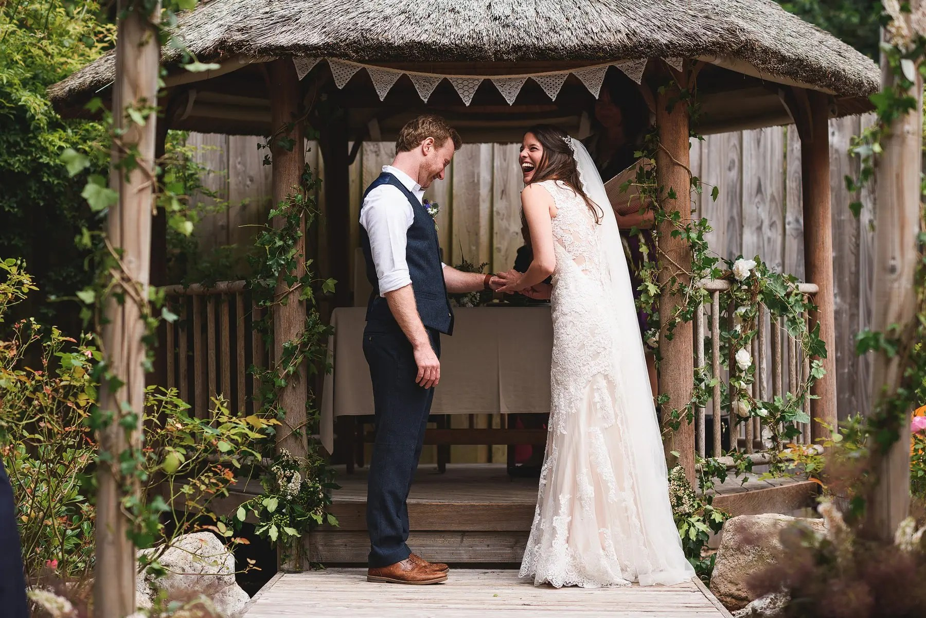 wedding photographer yurt camp devon