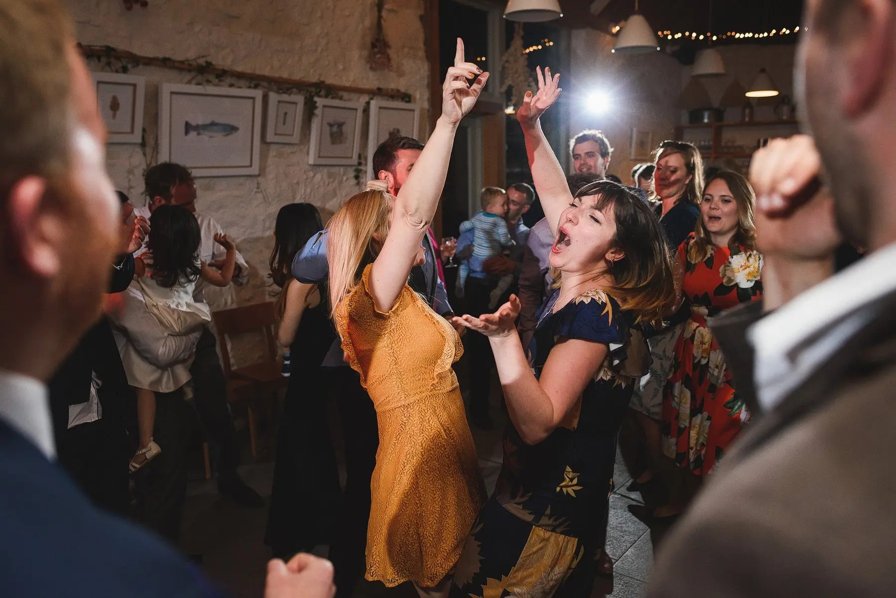 river cottage wedding dancing