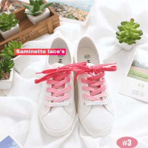 lacet bicolore rose saminette.fr