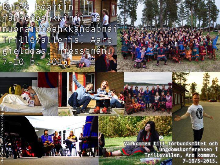 Bildmontage från senaste mötet i Lycksele, maj 2014. Foto: Evelina Olofsson och Sara Lindquist