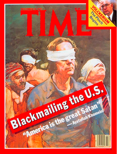 November 1979: First TIME cover after the seizing of US embassy staff