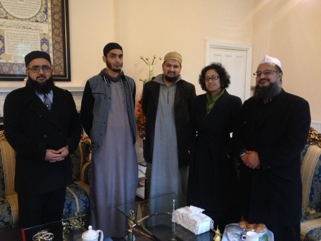 Invited to meet staff and students at Jamia Al Karam seminary (Nottinghamshire)