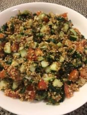 Tabbouleh... A Cool Salad for Hot Days With the Goodness of Bulgur