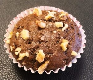 Banana Walnut Chocolate Muffins
