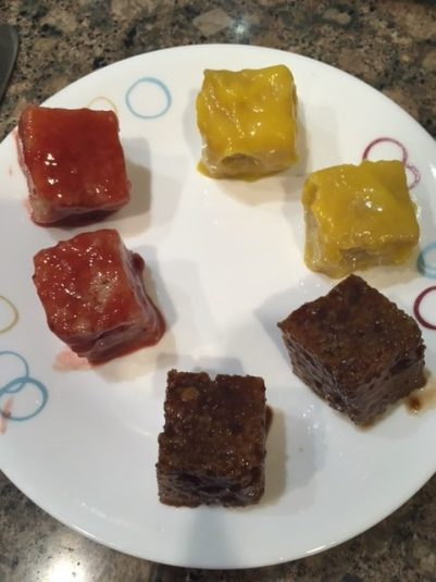 Lamingtons: Strawberry/Mango/Chocolate