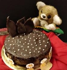 Microwave Chocolate  Cake: Eggless & With WW