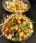 Moong Sprouts Salad: Healthy & Appetizing