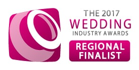 Sami Tipi The regional finalsit for the wedding industry awards