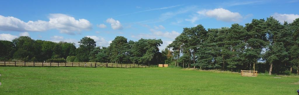 Horseshoe cottage farm field