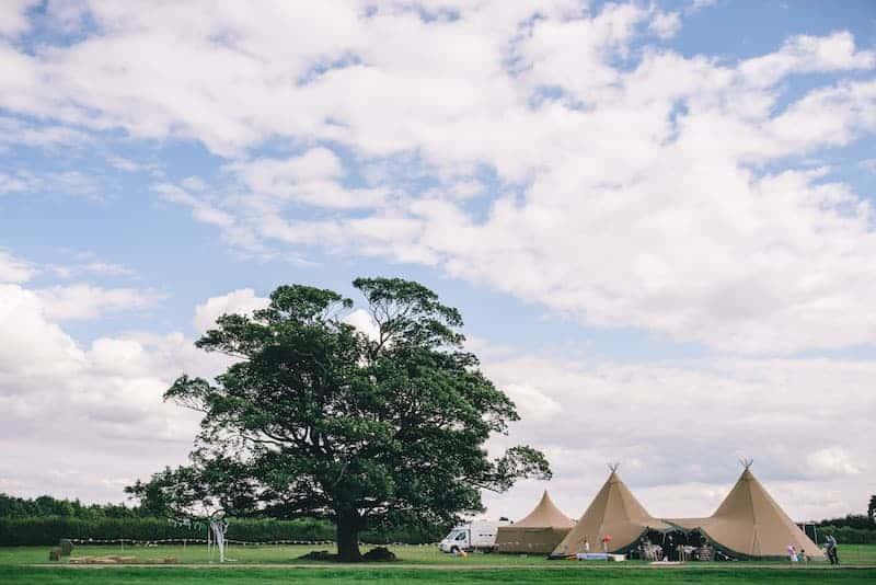 Lisa & Fliss | Sami Tipi Wedding | Cattows Farm | Matt Brown Photography3