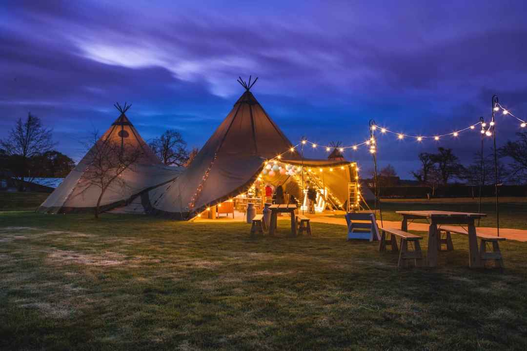 sami tipi by night - Sami Tipi Starlight Social captured by Christopher Terry