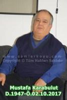 021-Mustafa Karabulut. D.1947-Ö.02.10.2017