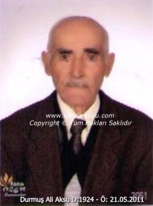 085-Durmuş Ali Aksu D.1924-Ö.21.05.2011